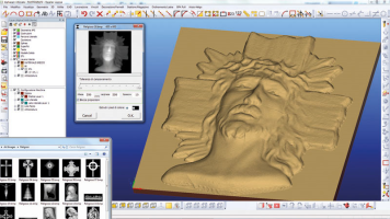 CONVERSIONE IMMAGINE IN SUPERFICIE 3D
